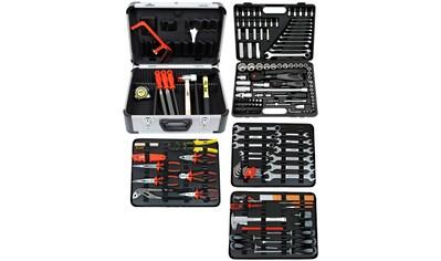 FAMEX Werkzeugset »719-44«, (Set, 214 St.), im Werkzeugkoffer kaufen