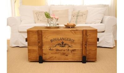 Uncle Joe´s Truhentisch »Boulangerie«, im Vintage-Look kaufen