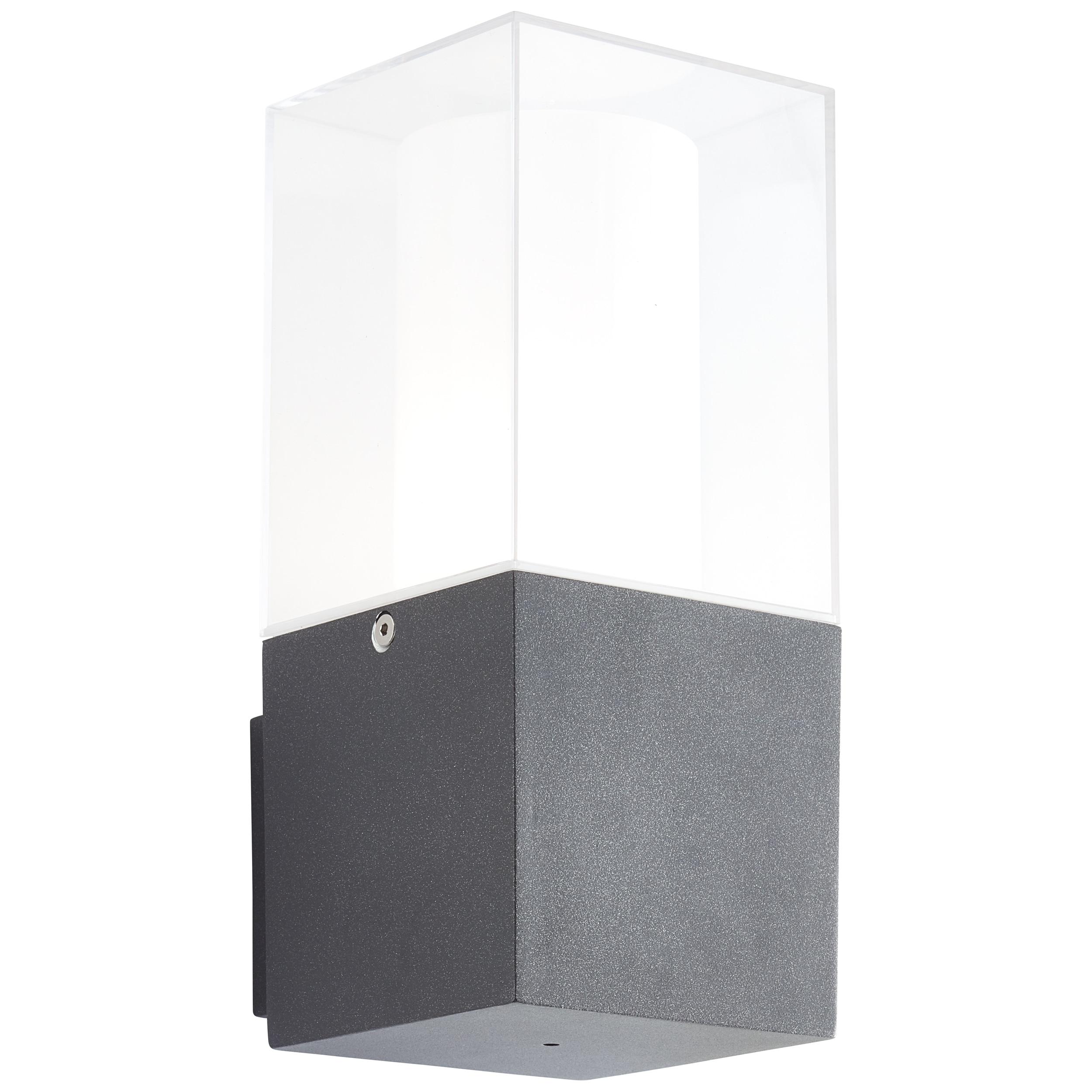 AEG Barbey LED Außenwandleuchte anthrazit/weiß