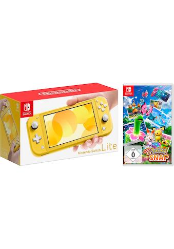 Nintendo Switch Konsole »Lite«, inkl. Pokémon Snap kaufen