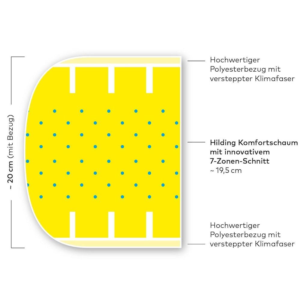Hilding Sweden Komfortschaummatratze »Essentials Plus«, (1 St.)
