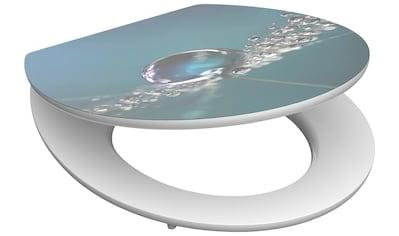 SCHÜTTE WC - Sitz »Water Drop«, mit Absenkautomatik kaufen