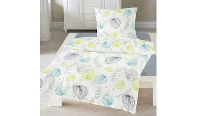 TRAUMSCHLAF Bettwäsche »Botan lind«, bügelfreie Qualität kaufen