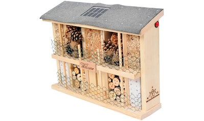 LUXUS-INSEKTENHOTEL Insektenhotel »Landsonne«, BxTxH: 47x12,5x34 cm kaufen