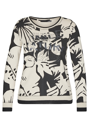 LeComte Langarmshirt, mit floralem Muster und langen Ärmeln kaufen
