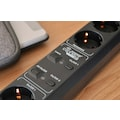 Brennenstuhl Steckdosenleiste »Eco-Line WiFi«, 6-fach, (Ein- / Ausschalter-LED-Statusanzeige-separate Ein- / Ausschalter Kindersicherung-Schutzkontaktstecker Kabellänge 1,5 m), WiFi-Funktion