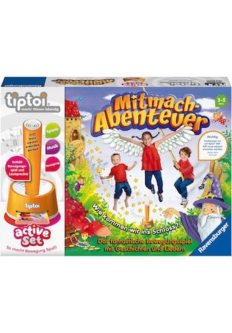 Ravensburger Spiel »tiptoi® active, Mitmach-Abenteuer«, Made in Europe, FSC® - schützt... kaufen