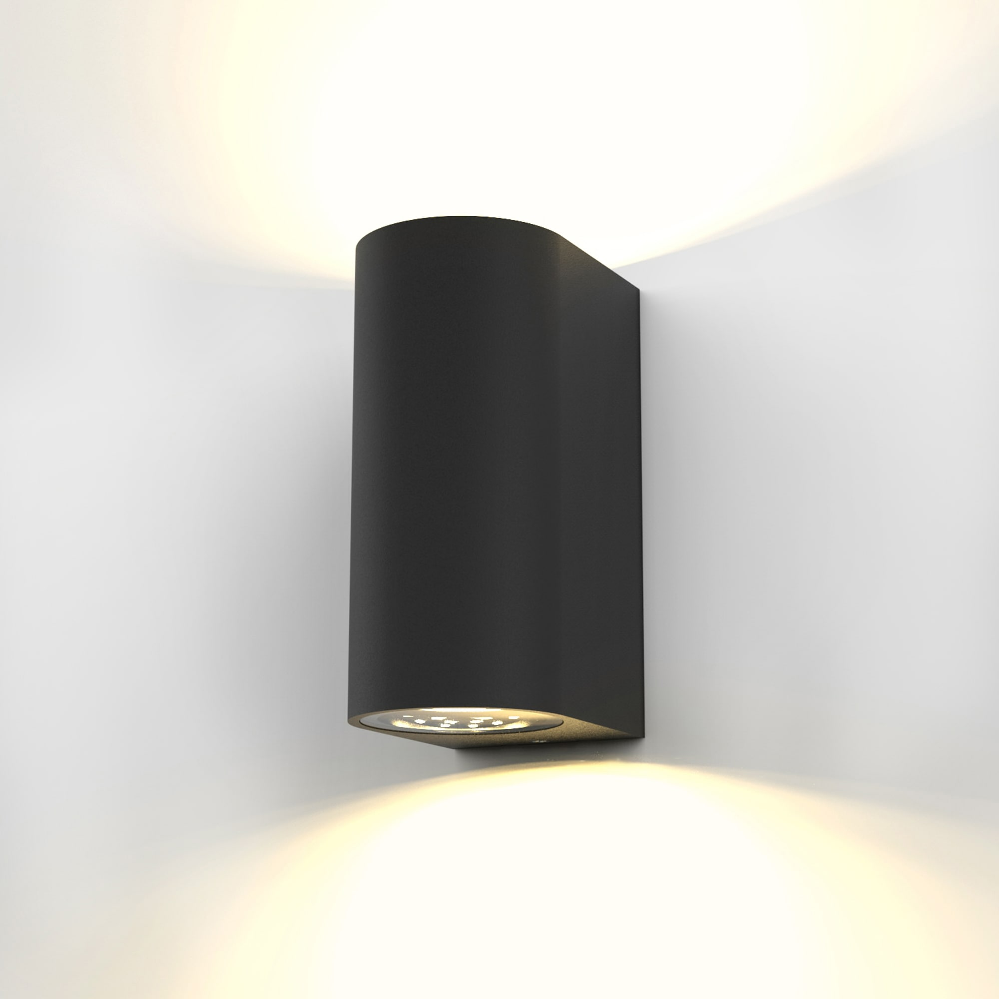 B.K.Licht,LED Außen-Wandleuchte Volans [Schwarz]