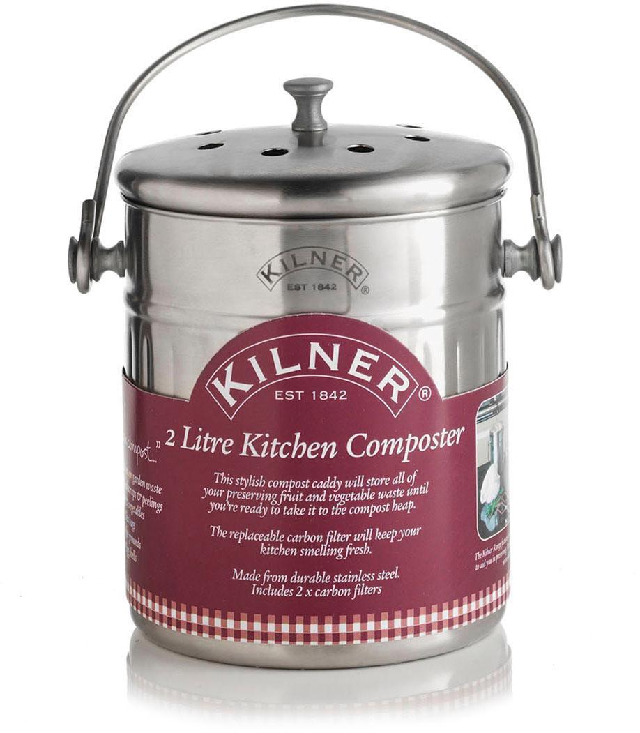 """KILNER Biomülleimer """"""""Küchen-Komposter"""""""" Wohnen/Haushalt/Haushaltswaren/Küchenhelfer/Mülleimer/Küchen-Mülleimer"""