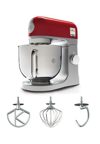 KENWOOD Küchenmaschine »kMix KMX 750RD«, 1000 W, 5 l Schüssel, inkl. 3-tlg.... kaufen