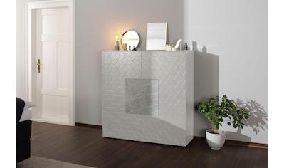 Villeroy & Boch Highboard »LUNA CARRÉ«, mit Keramik-Akzenttür in Zaha kaufen