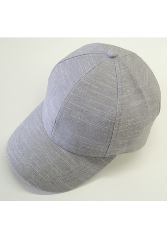 Chaplino Baseball Cap, mit Leinenstruktur kaufen