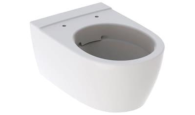 GEBERIT Wand - WC »iCon«, geschlossene Form, Rimfree, weiß, KeraTect kaufen