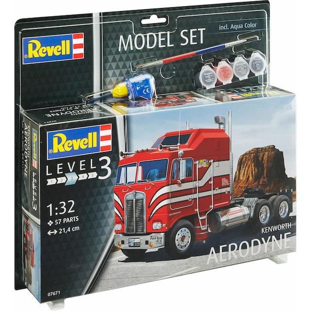 "Revell® Modellbausatz ""Model Set, Kenworth COE Aerodyne"", Maßstab 1:32, (Set)"