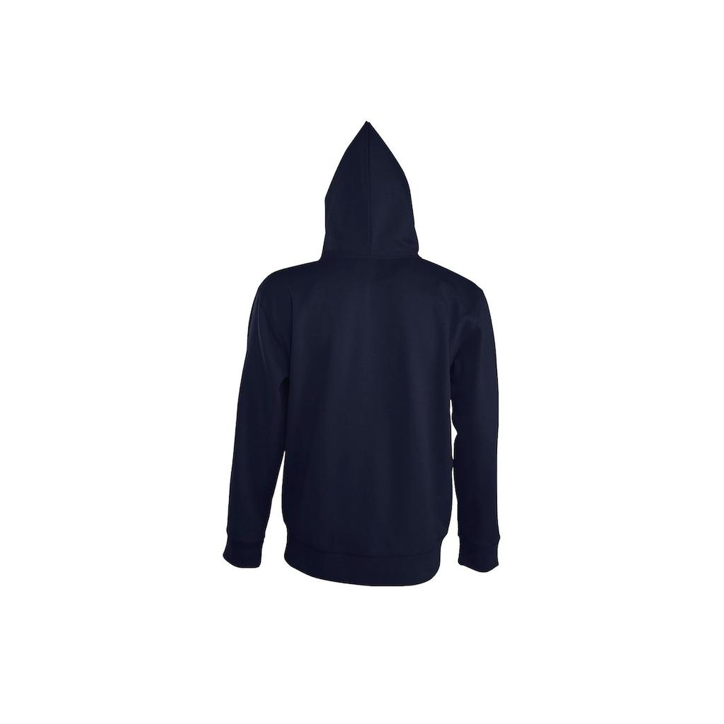 SOLS Kapuzennickijacke »Herren Seven Kapuzenjacke / Kapuzen-Sweatshirt mit Reißverschluss«