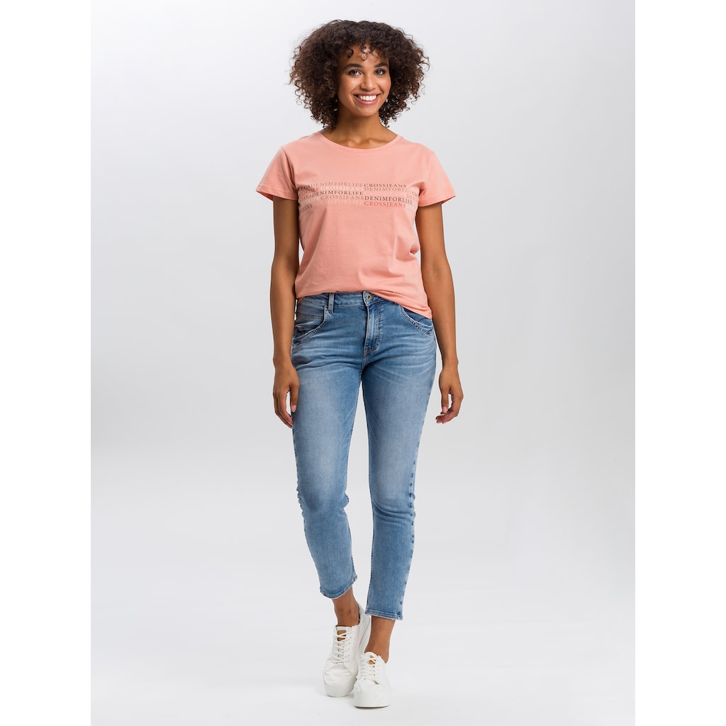 Cross Jeans® Slim-fit-Jeans »Tanya«, Schmale Passform