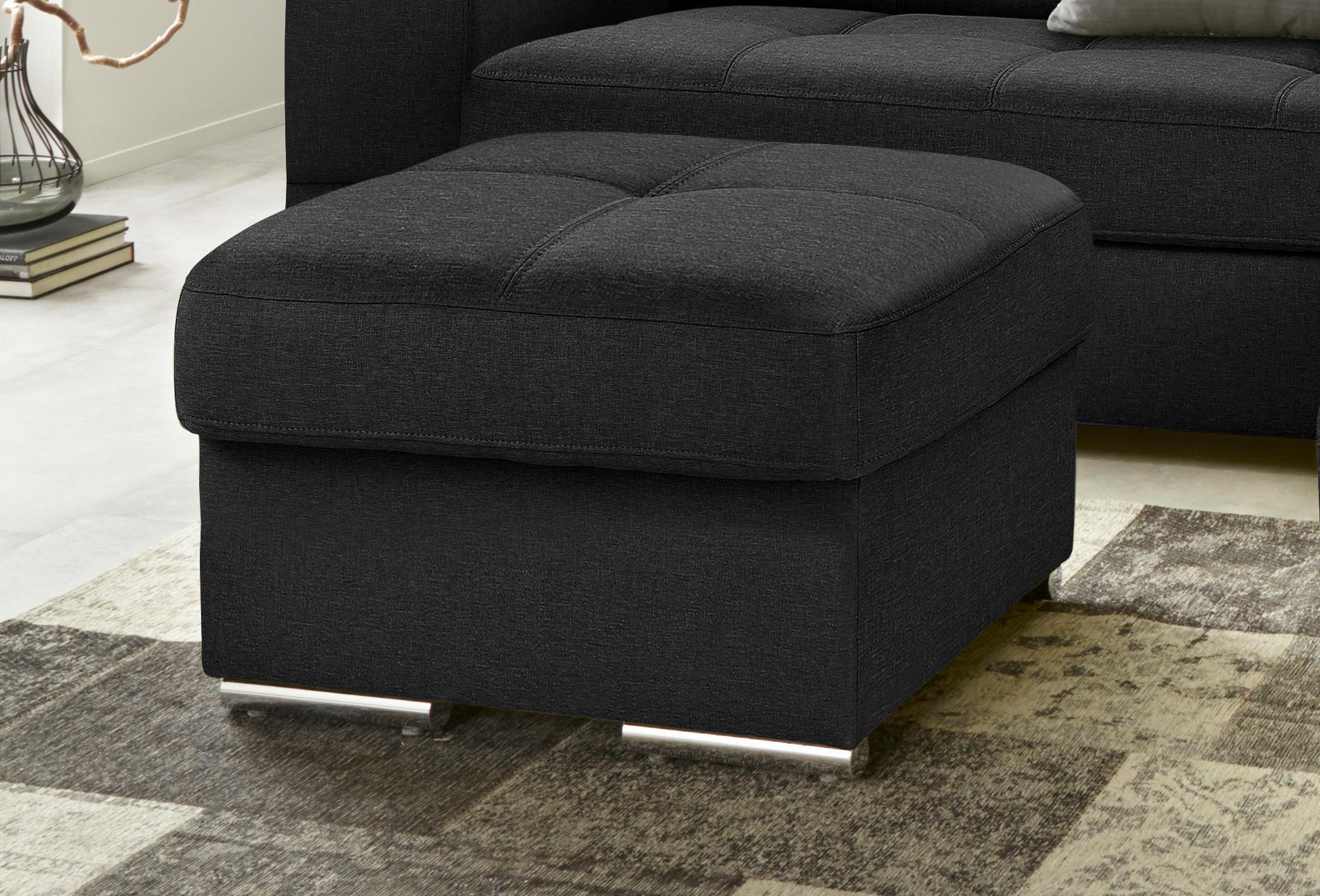 Trendmanufaktur Hocker | Wohnzimmer > Hocker & Poufs > Sitzhocker | Microfaser | TRENDMANUFAKTUR