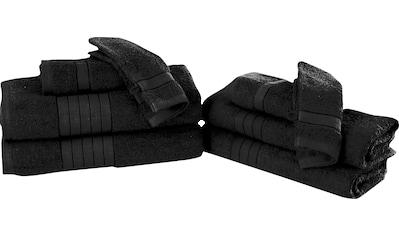 good morning Handtuch Set »Uni«, mit Webrand kaufen