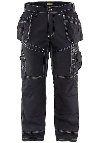 BLÅKLADER Arbeitsbundhose »X1500«, mit extra breiter CORDURA®-verstärkter Zollstocktasche kaufen