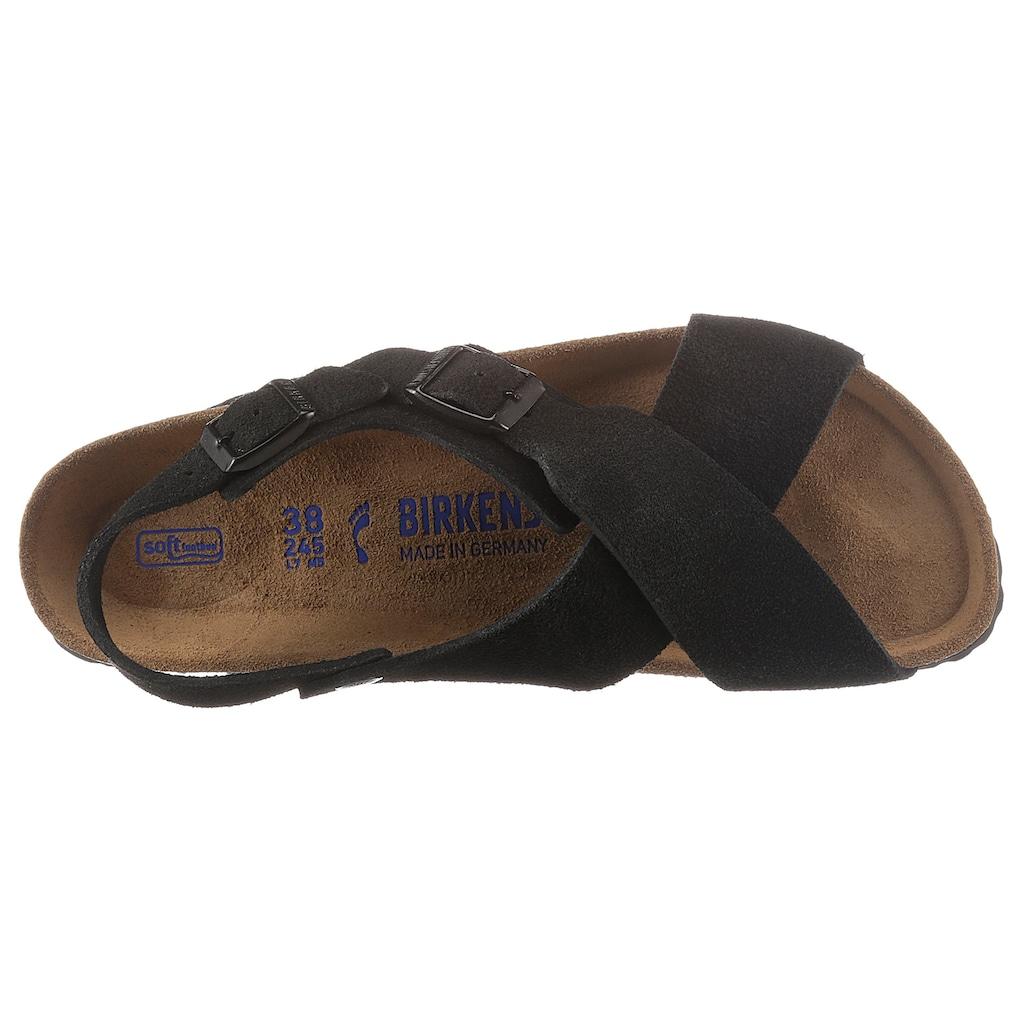 Birkenstock Riemchensandale »Tulum SFB«, mit Korkfußbett, schmale Schuhweite