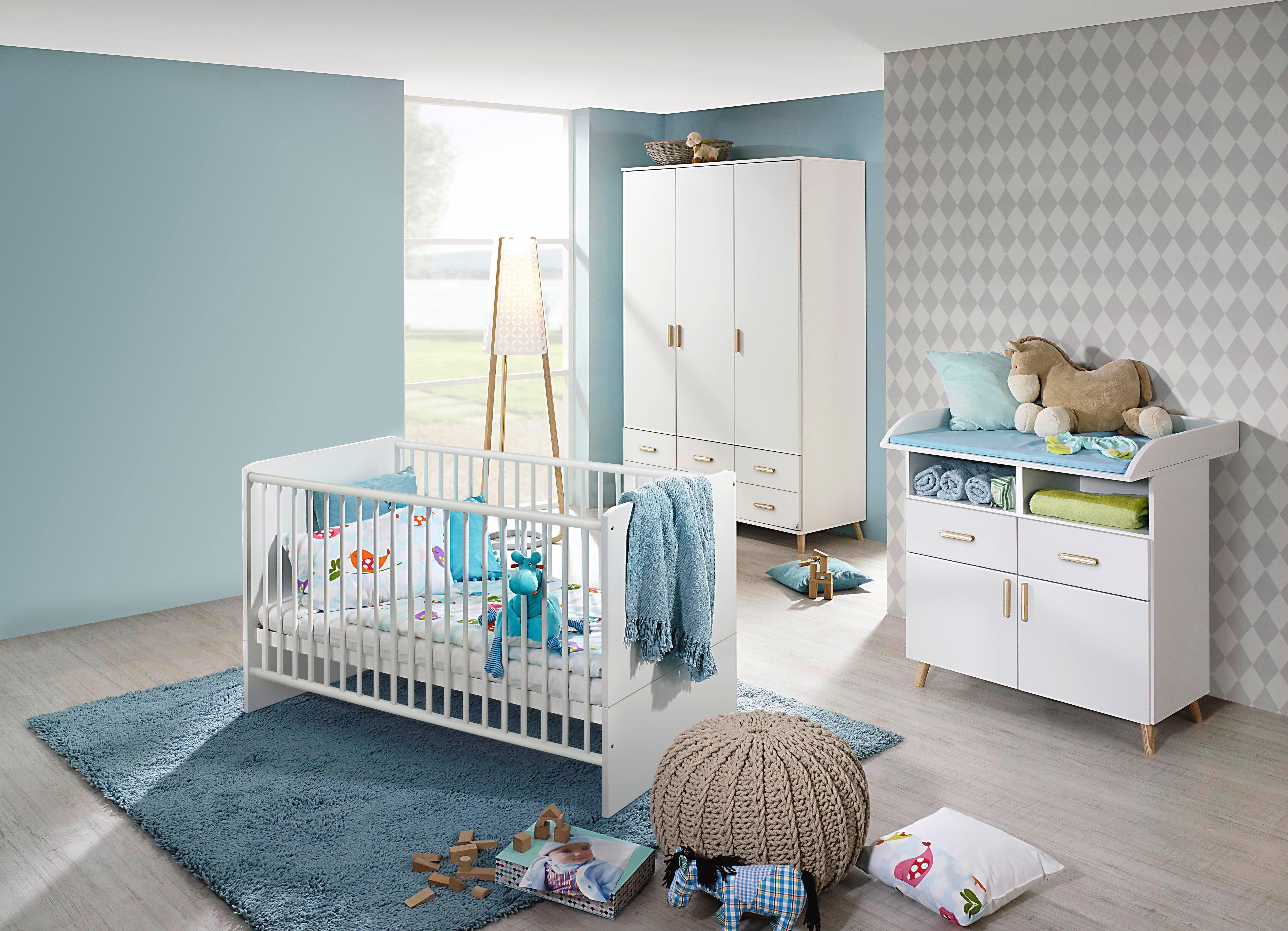 10ca1d1111ae10 Alpinweiss Holz Komplett Babyzimmer Online Kaufen Möbel
