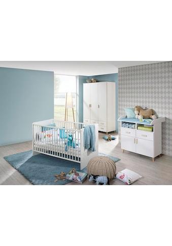 rauch ORANGE Babyzimmer-Komplettset »Potsdam«, (Set, 3 St.), Bett + Wickelkommode + 3... kaufen