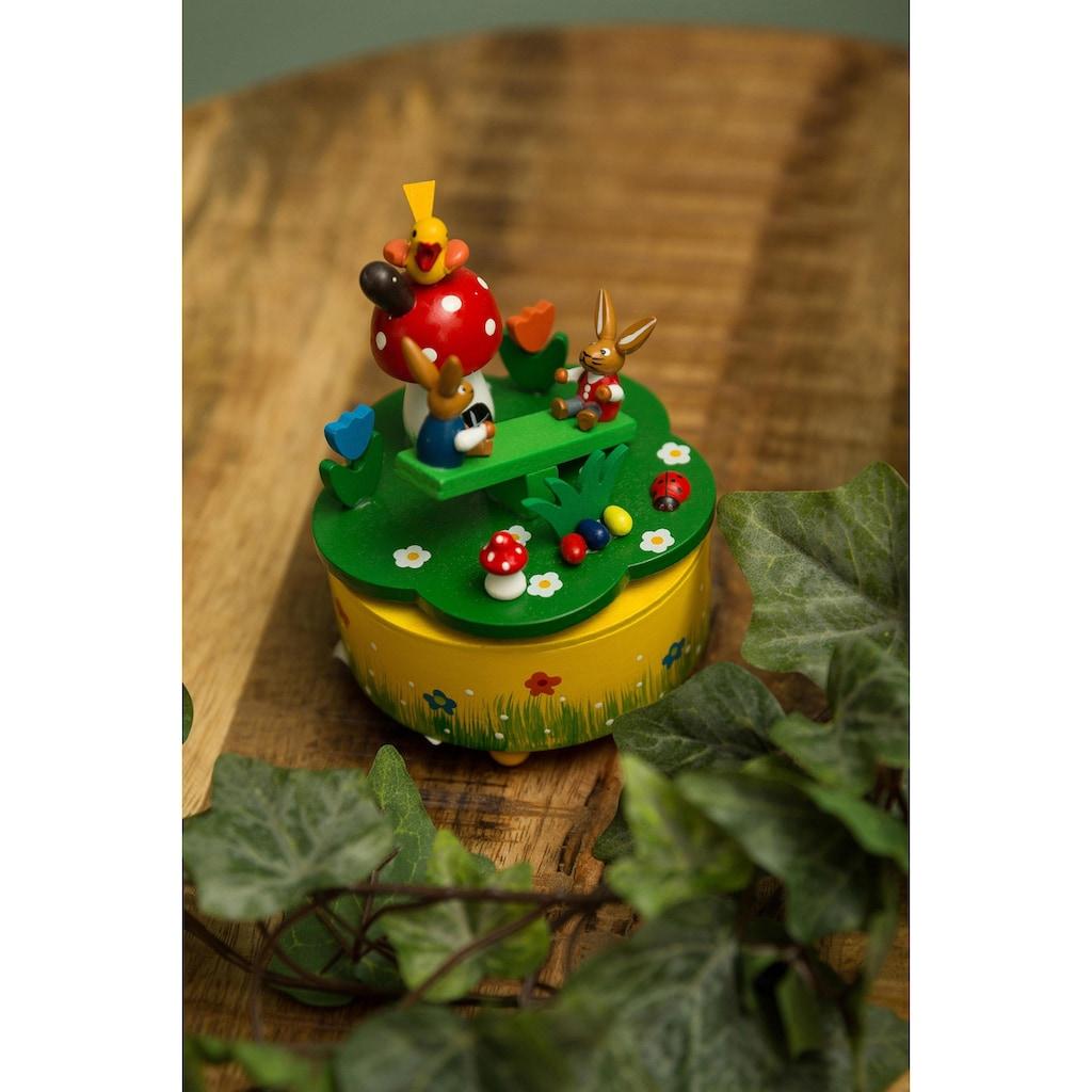 Spieluhr »Osterhasenszene«