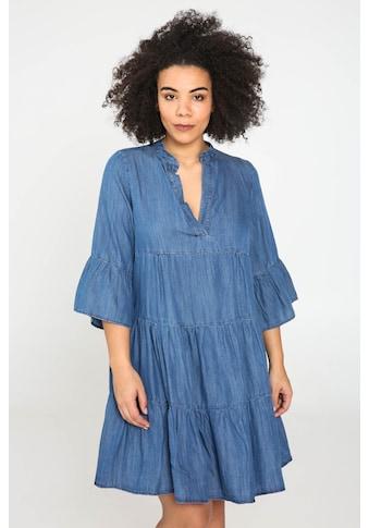 Paprika Jeanskleid »V - Ausschnitt Uniform« kaufen
