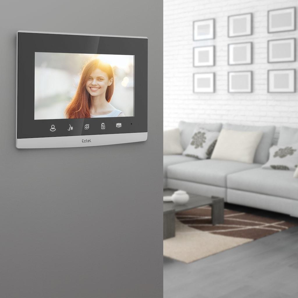 Extel Videosprechanlage, Spiegeldesign mit integrierter Codetastatur »CODE«