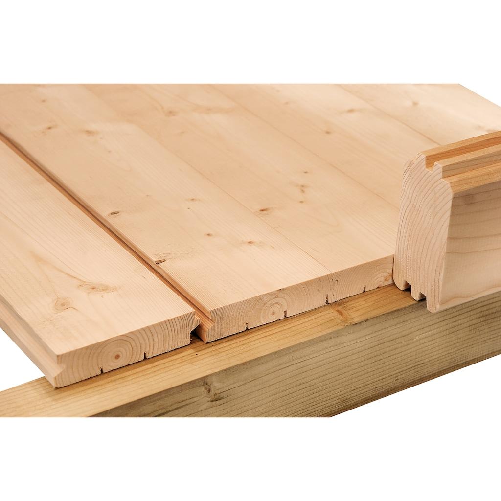 Wolff Fußboden »Lyon A«, für Gartenhaus