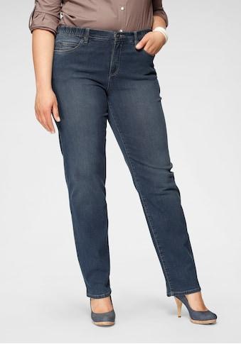 Arizona Straight-Jeans »mit bequemen Dehnbund«, High Waist kaufen