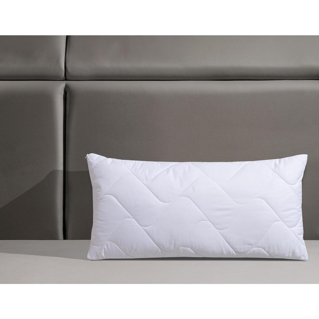 f.a.n. Schlafkomfort Microfaserkissen »Microfaser kochfest«, (1 St.)