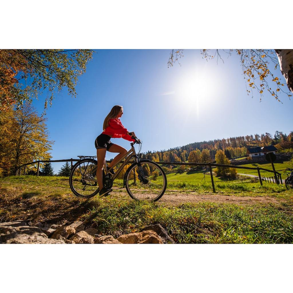 SIGN Trekkingrad, 27 Gang, Shimano, DEORE RD-M592 Schaltwerk