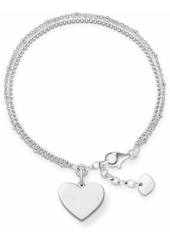 THOMAS SABO Armband »Herz, LBA0102 - 001 - 12 - L19,5v« kaufen