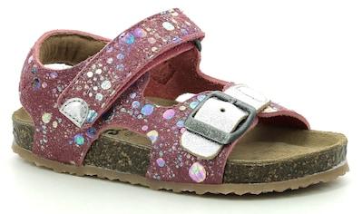 Kickers Sandale, mit Punkten im Metallic Look kaufen