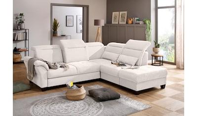 Premium collection by Home affaire Ecksofa »Solvei«, mit Ottomanenabschluß und... kaufen