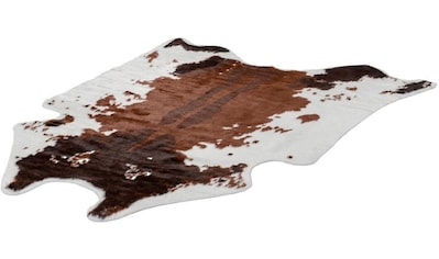 Teppich, »Rodeo 201«, LALEE, fellförmig, Höhe 17 mm, maschinell gewebt kaufen