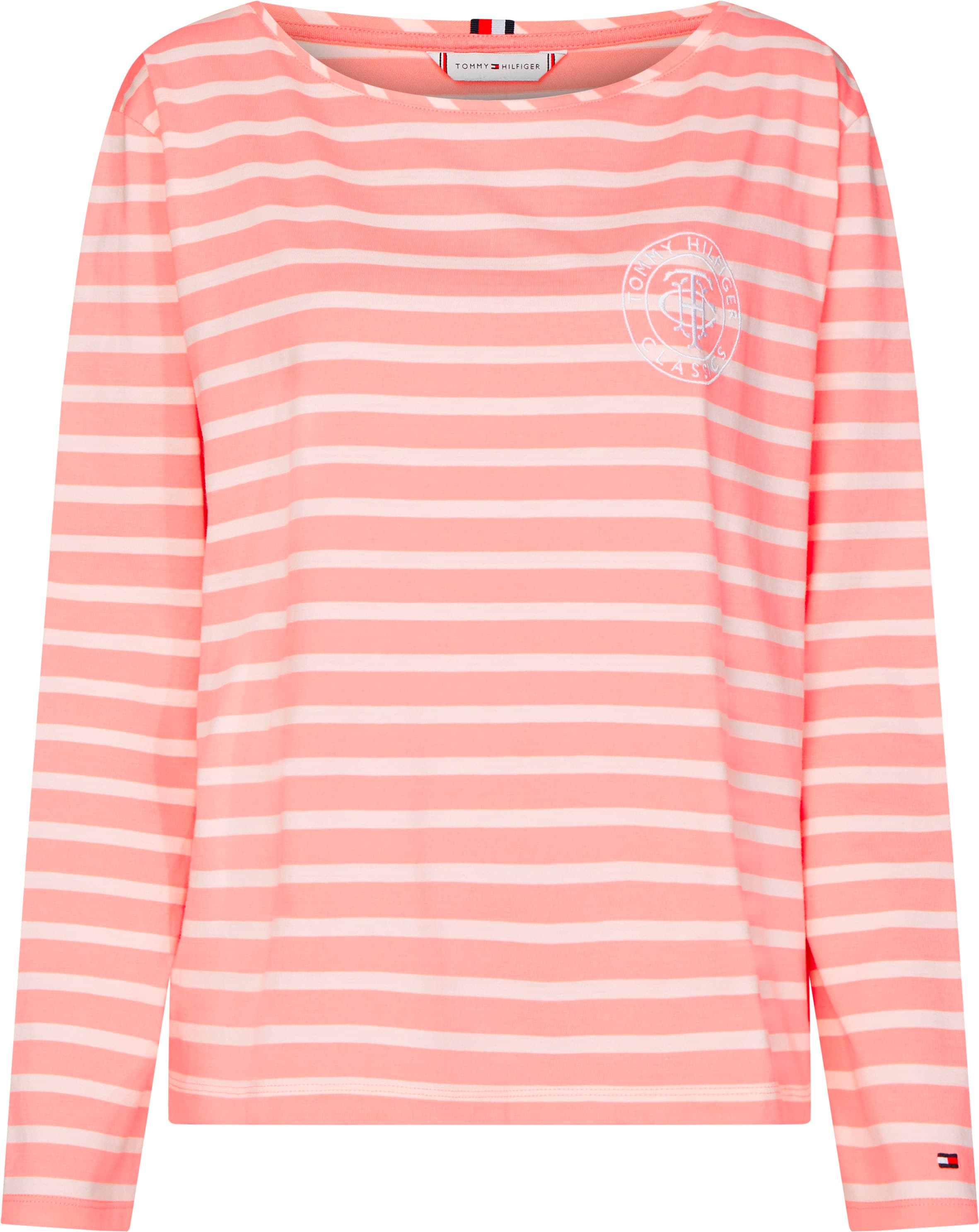 tommy hilfiger -  Langarmshirt TH ESSENTIAL RELAXED TEE LS