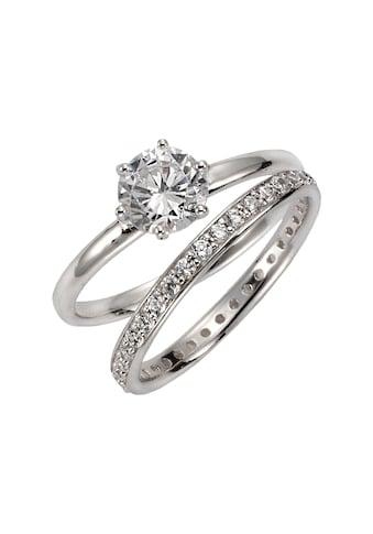 CELESTA Ring - Set »925/ -  Sterling Silber Zirkonia« kaufen