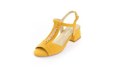 Alba Moda Sandalette mit Schmuckapplikation kaufen