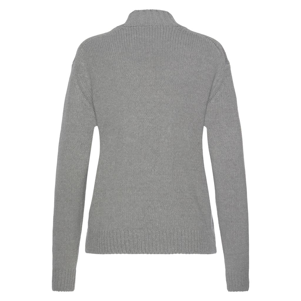 Pepe Jeans Rollkragenpullover »CARLOTARO«, mit Markenschriftzug auf der Brust