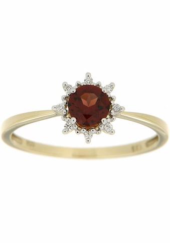 Firetti Diamantring, mit Granat und Brillanten kaufen