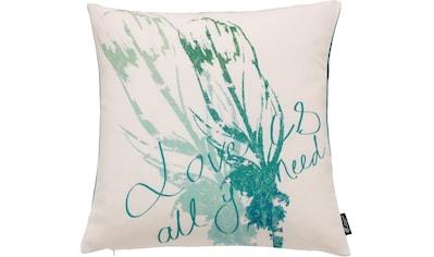 Kissenhülle, »Feather«, emotion textiles kaufen