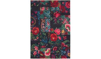 NOURISTAN Teppich »Kelim Patchwork Dolnar«, rechteckig, 7 mm Höhe, Orient-Optik,... kaufen