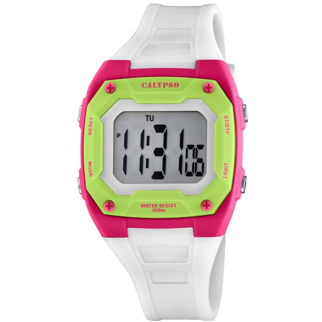 CALYPSO WATCHES Digitaluhr »Color Splash, K5813/1«