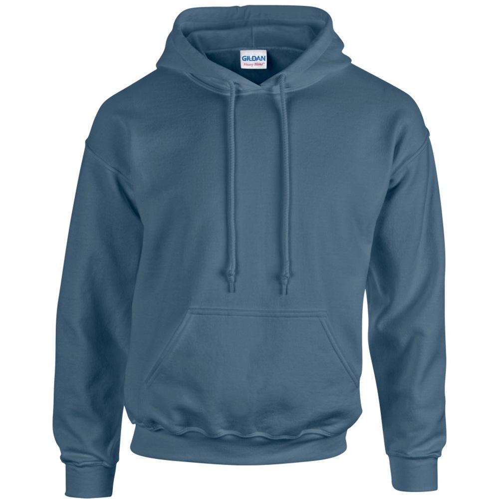 Gildan Kapuzenpullover Heavy Blend Unisex / Hoodie Kapuzensweater orange Herren Pullover