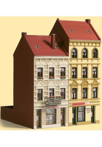 Auhagen Modelleisenbahn-Gebäude »Stadthäuser Schmidtstraße 17/19«, Made in Germany kaufen