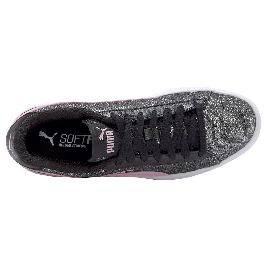 PUMA Sneaker »Smash v2 Glitz Glam Jr«
