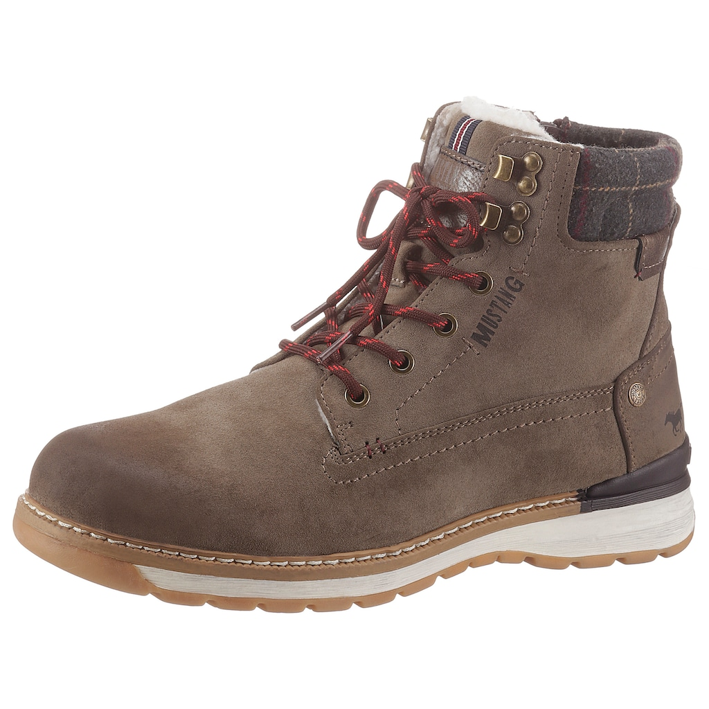 Mustang Shoes Winterboots, mit heller Laufsohle