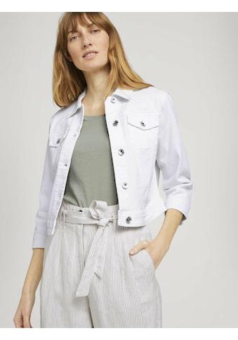 TOM TAILOR Kurzjacke »Kurze Jeansjacke« kaufen